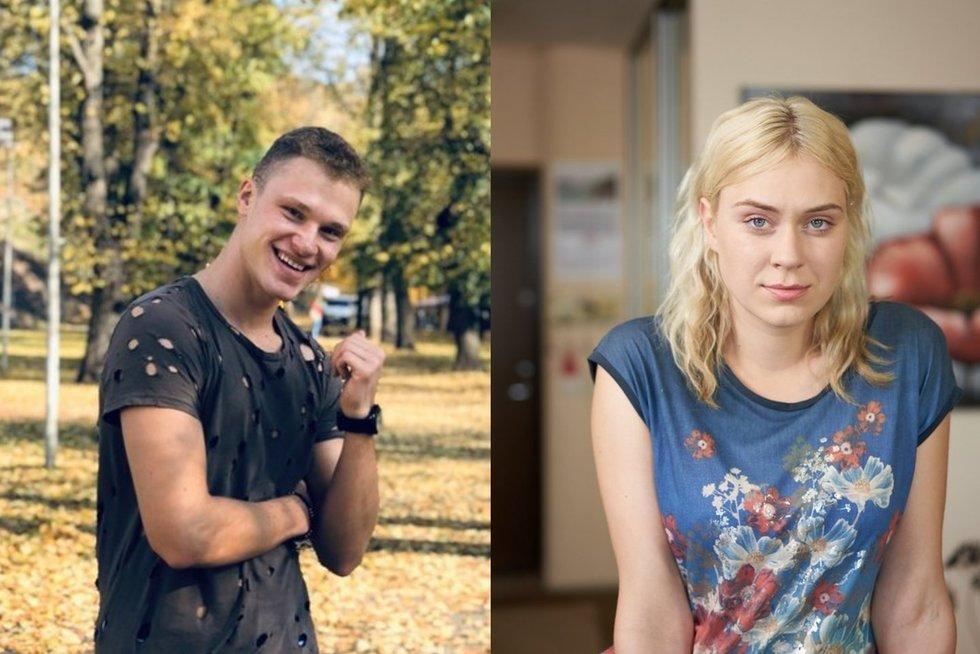 Justinas Mejeris ir Žiedūnė Mardosaitė (tv3.lt fotomontažas)