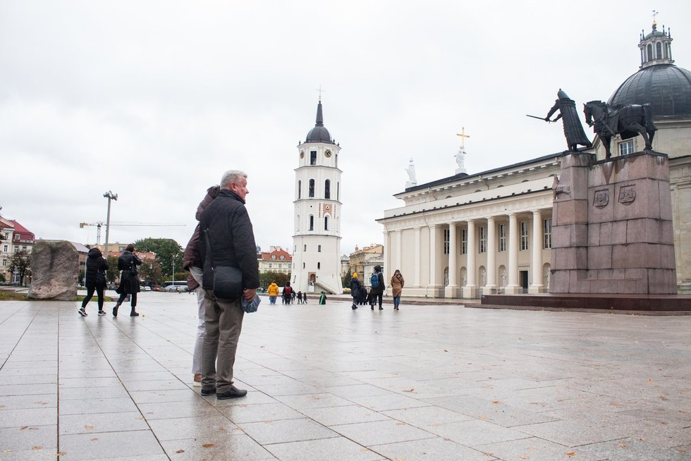 Ruduo sostinėje (nuotr. L. Varanauskas/Fotodiena.lt)