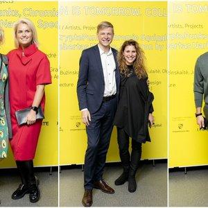 Parodoje pasirodė būrys žinomų svečių: renginio nepraleido ir Vilniaus meras Remigijus Šimašius su žmona