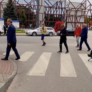 Dar vienas lietuvių išradimas: Šilutės gatvėse – robotas, kuris gali dirbti žmonėms pavojingose zonose