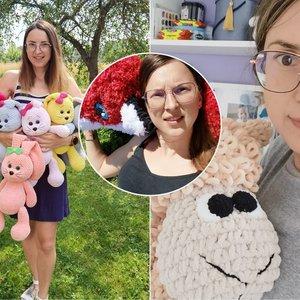 Pasvalietės kurti žaislai tapo tikru Lietuvos hitu: tėvai eilėje laukia ir 2 mėnesius