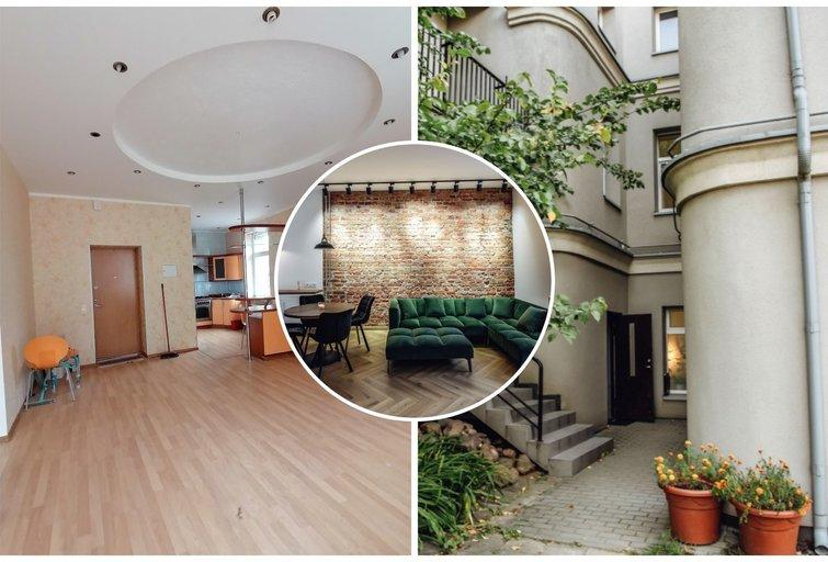 Panevėžiečiai atnaujino seną butą.