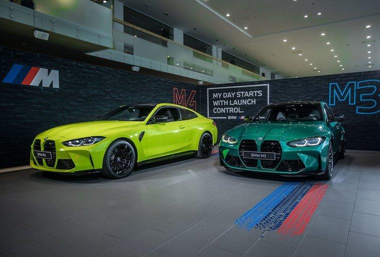 Pristatyti naujos kartos BMW automobiliai  (nuotr. Organizatorių)