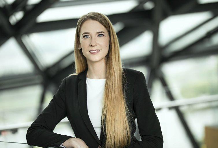 Justina Bagdanavičiūtė (nuotr. Swedbank)
