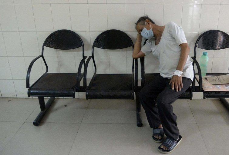 Indijos ligonis (asociatyvi nuotrauka) (nuotr. SCANPIX)