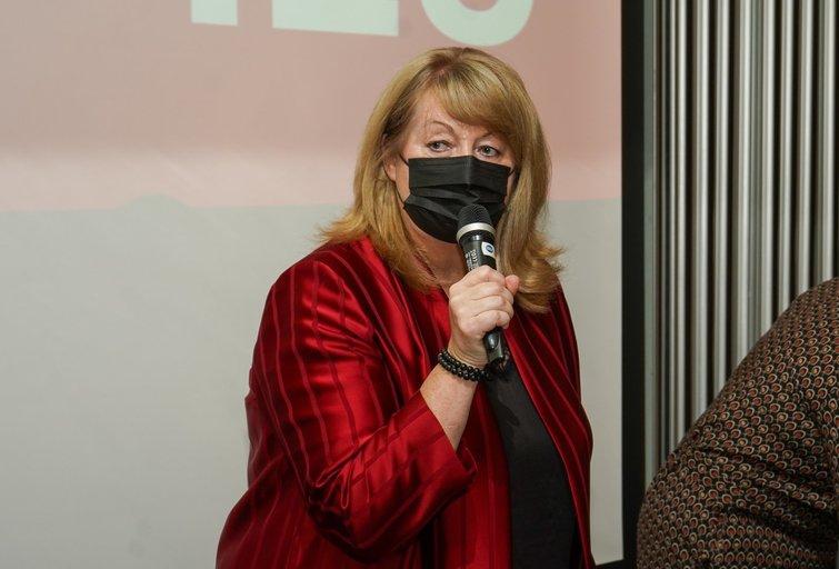 Lietuvos socialdemokratų partija (LSDP) šeštadienį Vilniuje susirinko į tarybos posėdį (Fotodiena/ Viltė Domkutė)