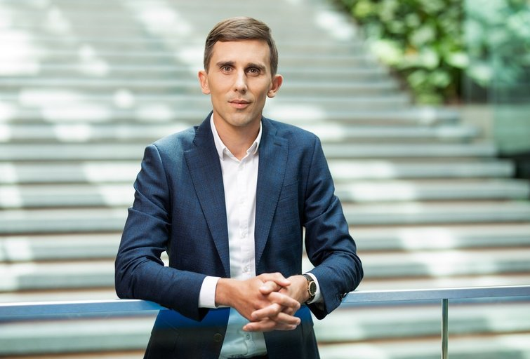 Ekonomistas Tadas Povilauskas (nuotr. Organizatorių)