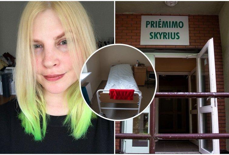 """Dukart psichiatrinėje ligoninėje buvusi Laura: """"Ta vieta labai panaši į paprastą ligoninę, tik durys be rankenų"""" (nuotr. tv3.lt)"""