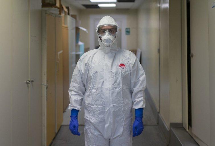 Kova su koronavirusu (nuotr. SCANPIX)