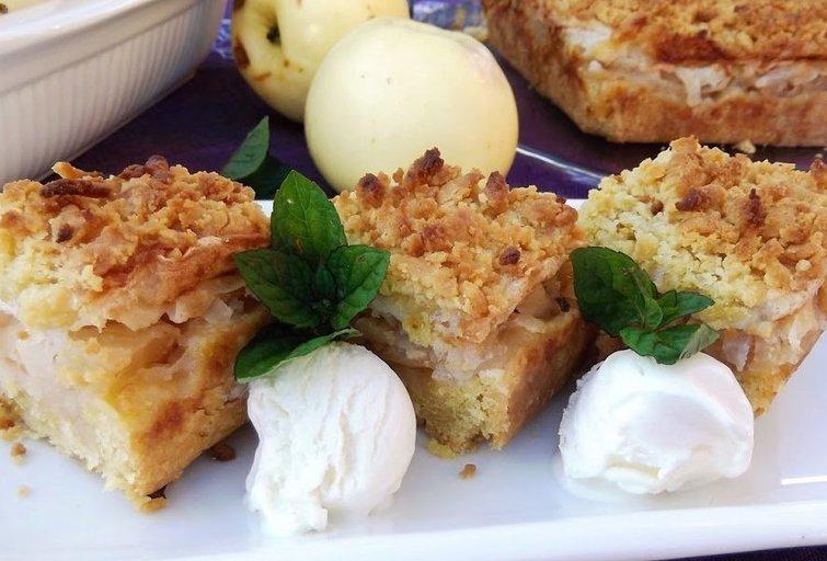 Trupininis obuolių pyragas (Nuotr. Skanus gyvenimas)