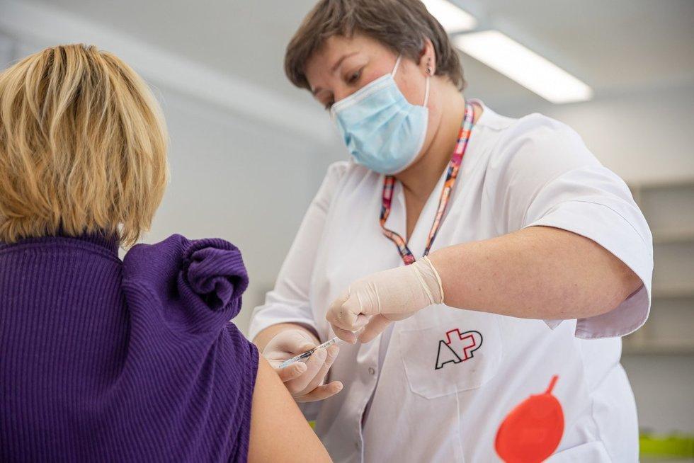Vakcina (nuotr. Sauliaus Žiūros)