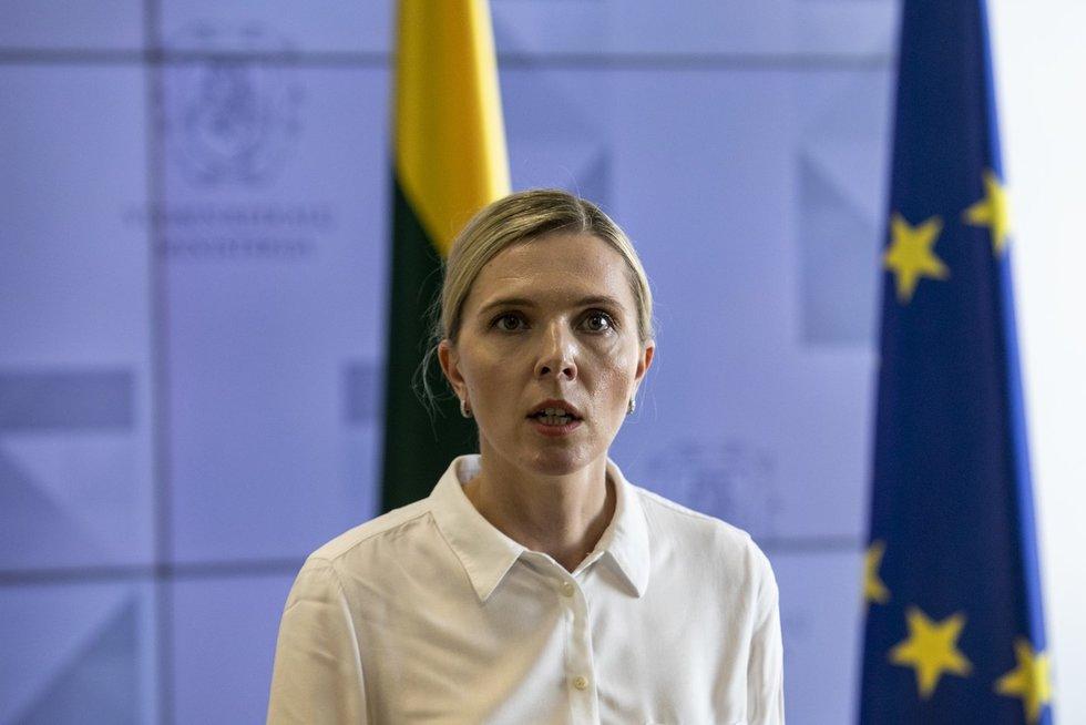 Agnė Bilotaitė (Paulius Peleckis/Fotobankas)