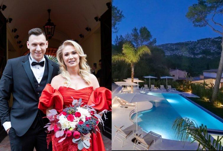 Natalijos Bunkės ir Edgaro Eidėjaus vestuvėms pasirinkta vila