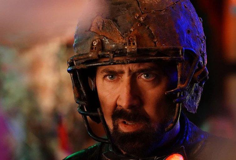 """Nicolas Cage yra radioaktyvus siaubo trilerio """"Šmėklų žemės kaliniai"""" anonse"""