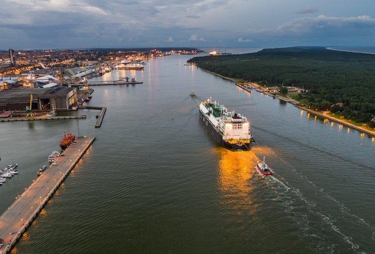 Į Lietuvą atplaukė SGD krovinys iš JAV (nuotr. bendrovės)