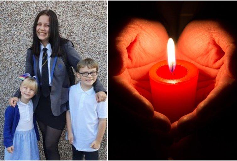 Šeimos gyvenimas virto tragedija: dėl COVID-19 mirusios 15-metės sesuo verkia kasnakt (nuotr. facebook.com)