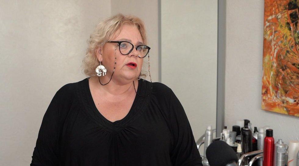 Kirpėjų ir grožio specialistų asociacijos prezidentė Jolanta Mačiulienė