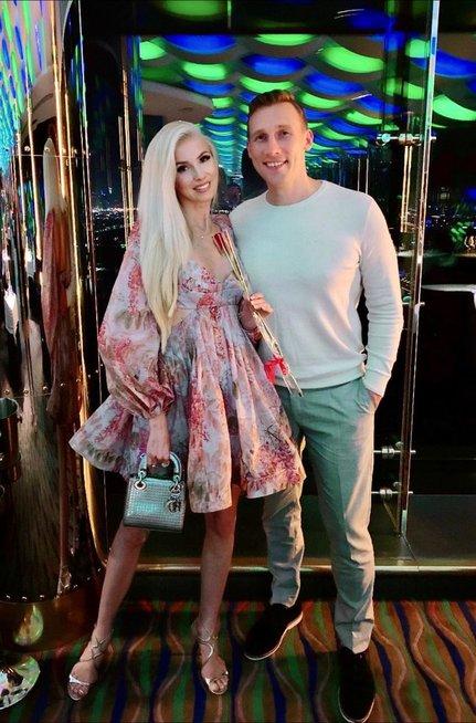 Inga Stumbrienės su vyru Aivaru