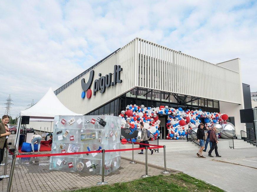 """""""Pigu.lt"""" atidaro didžiausią parduotuvę Baltijos šalyse"""