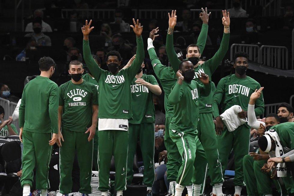 "Bostono ""Celtics"" (nuotr. SCANPIX)"