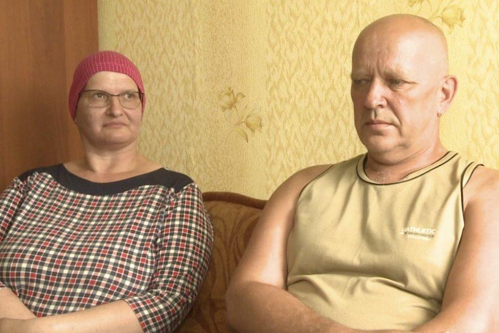 TV Pagalba. Bėda viena nevaikšto – vėžiu sergančios Rasos vyrą apgavo darbdaviai (nuotr. stop kadras)