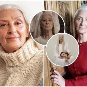 """Prakalbo """"Kunigundos"""" klipe sužibėjusi 63-erių Alina: jos istorija ne ką mažiau verta dainos"""