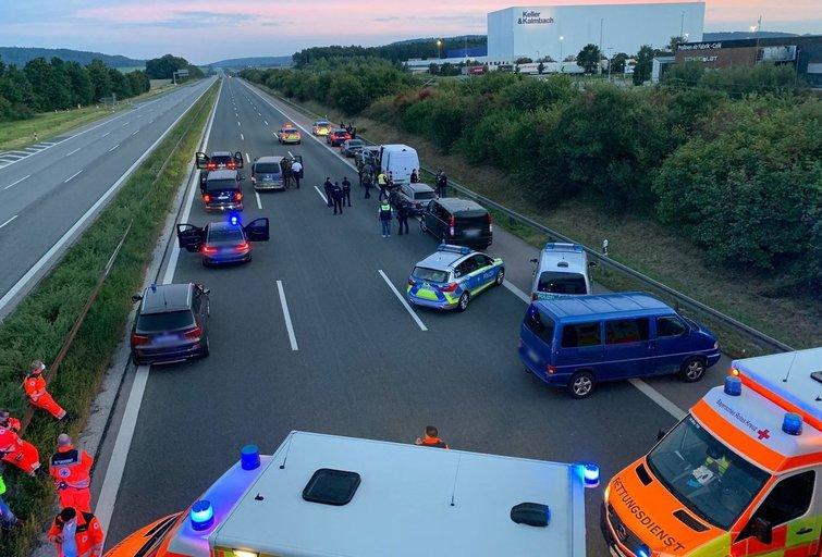 Bavarijos policija (nuotr. SCANPIX)