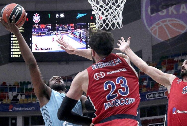CSKA įveikė varžovus. (nuotr. SCANPIX)