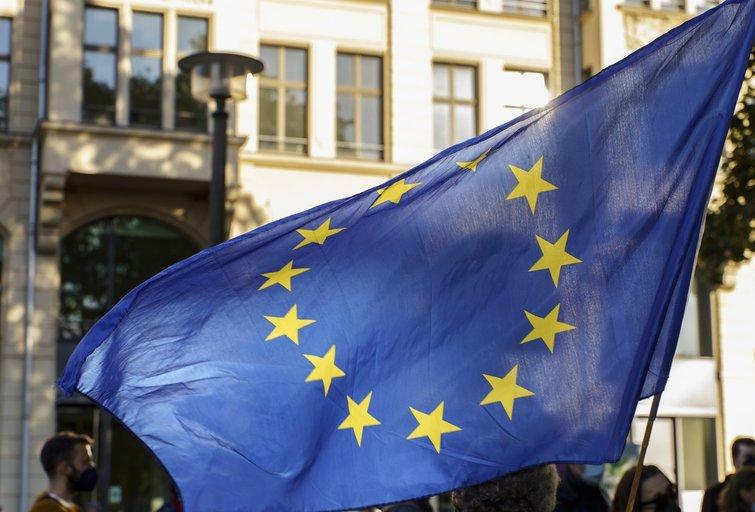 ES vėliava (nuotr. SCANPIX)