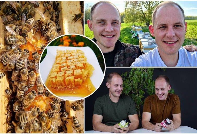 Lietuviai šluoja kupiškiečių dvynių rinktą medų: atskleidė savo sėkmės paslaptį (tv3.lt fotomontažas)