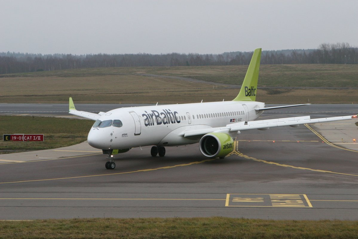 """Air Baltic"" (nuotr. SCANPIX)"