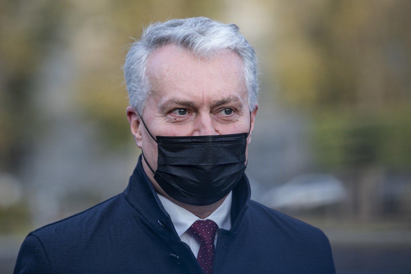 """Nausėda: """"Pandemija neturi sustabdyti Lietuvos sveikatos sistemos stiprinimo"""""""