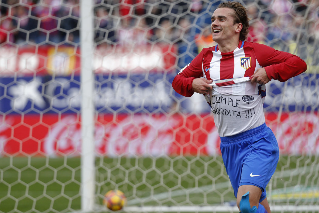 Antoine'as Griezmannas (nuotr. SCANPIX)