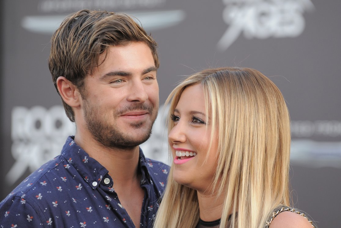 Zac Efron ir Ashley Tisdale (nuotr. SCANPIX)