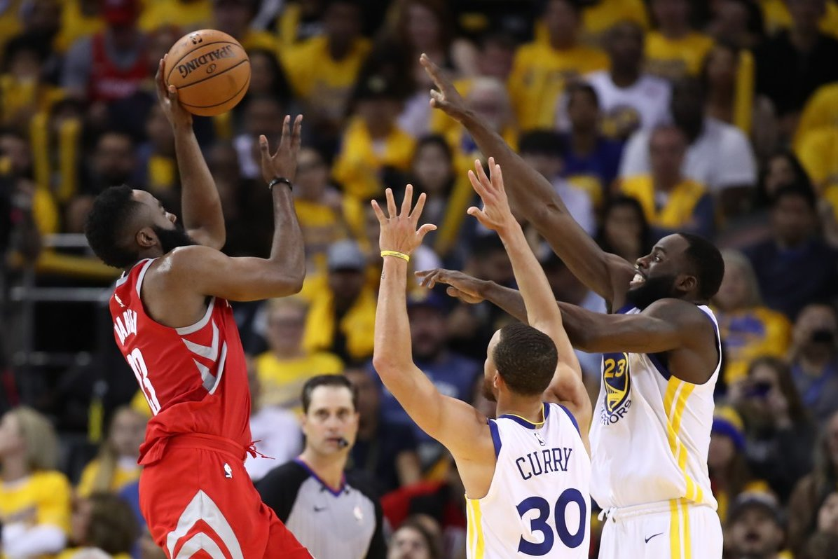 """Golden State Warriors"" – Hjustono ""Rockets"" 115:86 (nuotr. SCANPIX)"