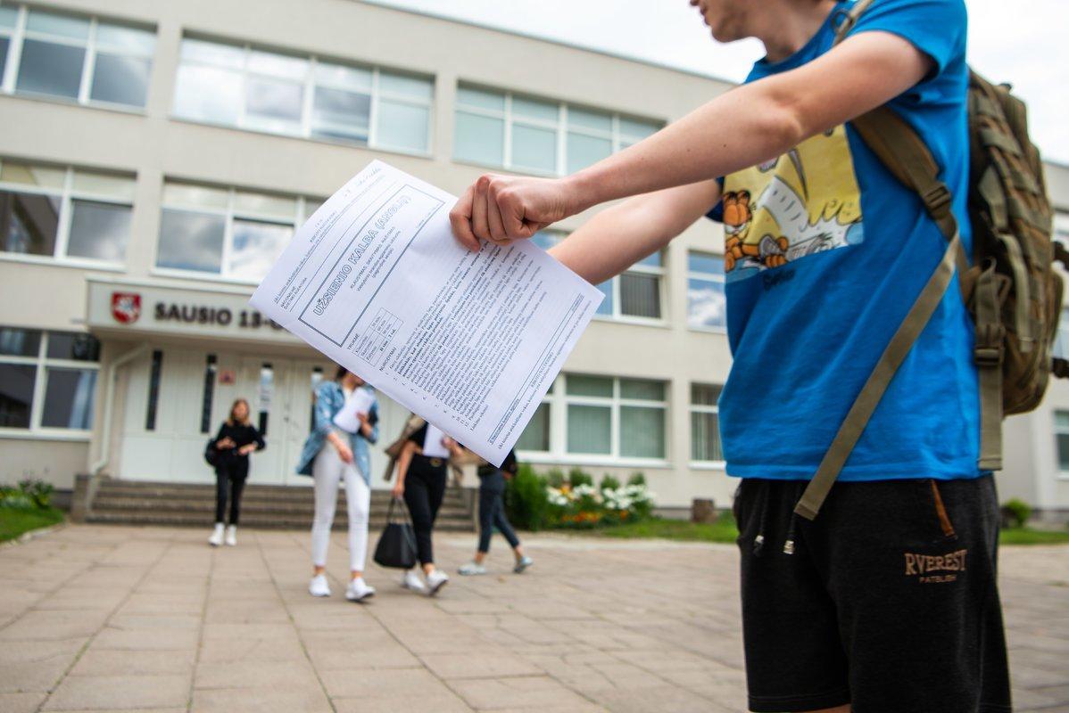 Brandos egzaminus galės laikyti toli gražu ne visi: šiemet pakeista pernykštė tvarka