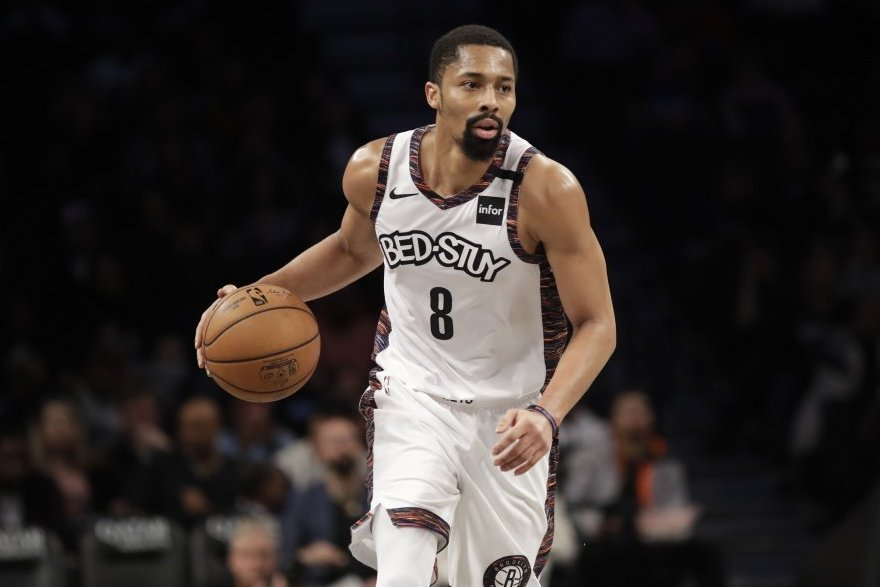 Spenceris Dinwiddie . (nuotr. SCANPIX)