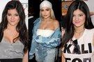 Kylie Jenner pokyčiai (tv3.lt fotomontažas)