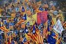 Protestai Katalonijoje (nuotr. SCANPIX)