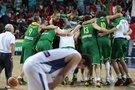 Istorinė Lietuvos krepšininkų pergalė: saldų kerštą serbams vainikavo pirmasis medalis (nuotr. SCANPIX)