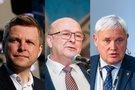 Remigijus Šimašius, Visvaldas Matijošaitis, Vytautas Grubliauskas (tv3.lt fotomontažas)
