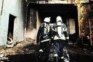 Akimirkos iš gaisro Alytuje (nuotr. asm. archyvo)