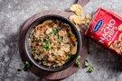Nachos lėkštė su malta mėsa ir sūriu pagal Valdą Šidlą