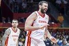 Ispanijos rinktinės žaidėjai (nuotr. FIBA)