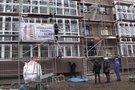 Panevėžyje žuvo statybininkas (nuotr. stop kadras)