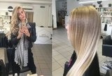 Modelis Simona Starkutė ryžosi pakeisti plaukų spalvą