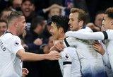 """""""Premier"""" lyga: dramatiška """"Tottenham"""" pergalė ir 5 įvarčių fiesta Vatforde"""