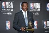 NBA apdovanojimai: padėka Jonui Valančiūnui ir prizas Domanto Sabonio bendražygiui