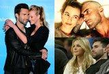 Dainininko Adamo Levine'o mylimosios – viena už kitą gražesnės įžymybės