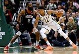 NBA žaidėjai išrinko geriausią sezono krepšininką